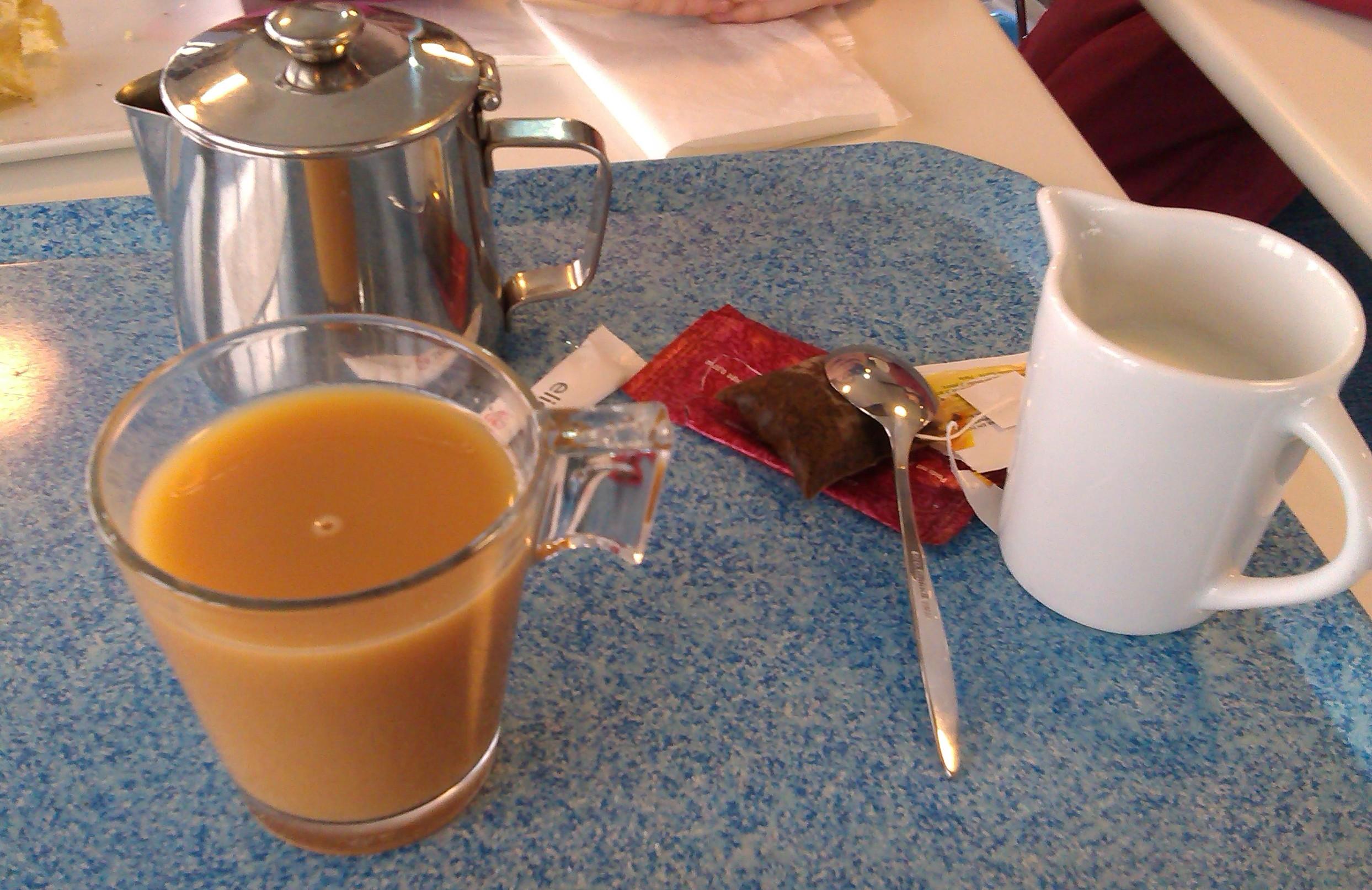 Not Quite Tea at Montparnasse