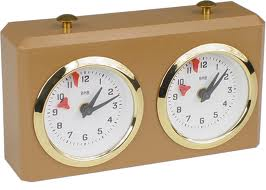 Conventional chess clock